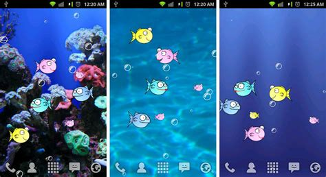 best live wallpapers for android best aquarium and fish live wallpapers for android android authority
