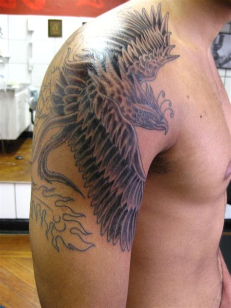 phoenix sleeve tattoo designs tattoos designs ideas and meaning tattoos for you