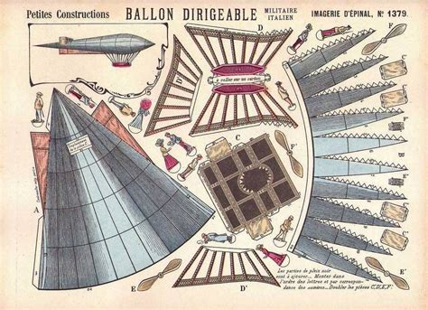 Beautiful Balloon Paper Craft Papermodeler by Cut And Assemble Dirigible Paper Craft Crafts