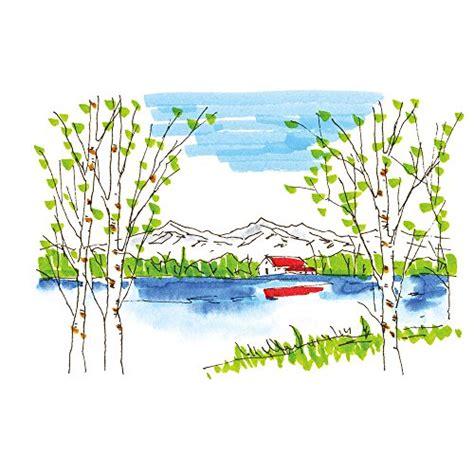 Kuretake Watercolor Brush M kuretake fudebiyori free air shipping brush watercolor 12 pen set japan