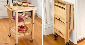 folding kitchen island 10 folding furniture designs great space savers and