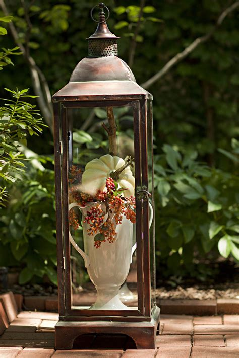 How To Decorate A Lantern by Fall For Fall Outside 3 High Impact Spots To Decorate