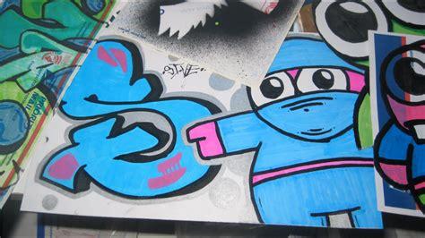 hoodlum  sive graffiti stickers speed art youtube