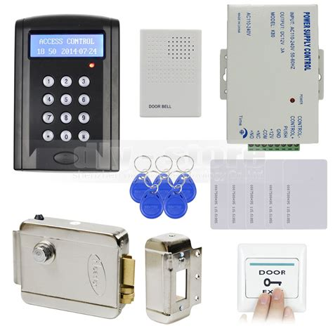 diy rfid keypad door access security system kit