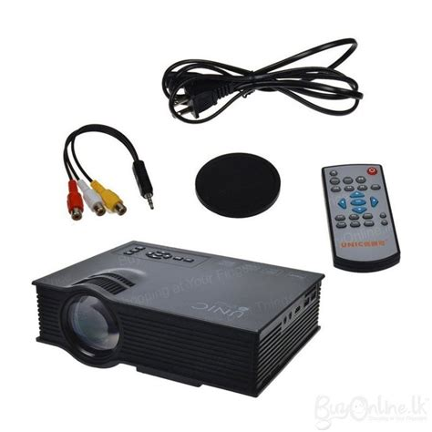 Proyektor Unic Uc46 unic uc46 wifi portable led home cinema projector