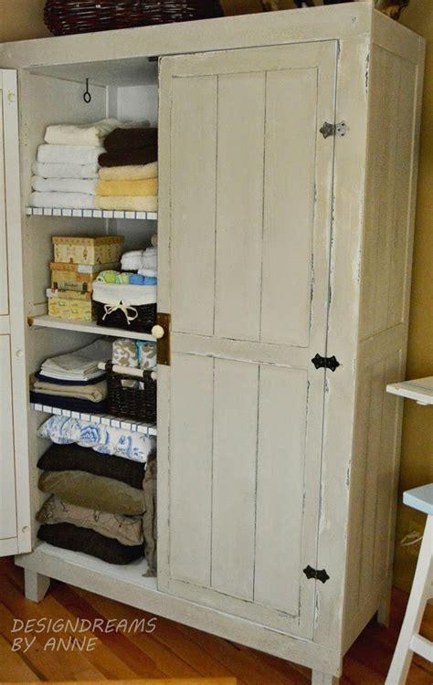 Vintage Linen Closet by Designdreams By Hack Wardrobe To Vintage