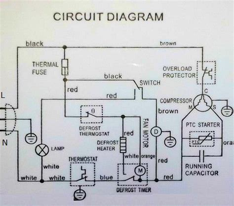 danby refrigerator circuit diagram the appliantology