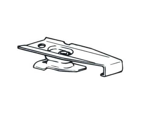 drapery hardware parts graber ceiling mount traverse rod brackets for super heavy