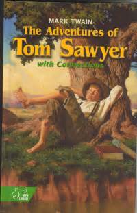 hannah is reading adventures of tom sawyer amp huckleberry