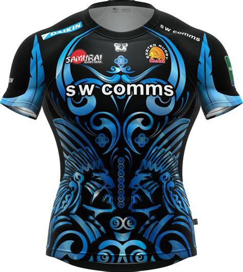 best rugby shirt the exeter chiefs iconix erc lv cup home shirt voted