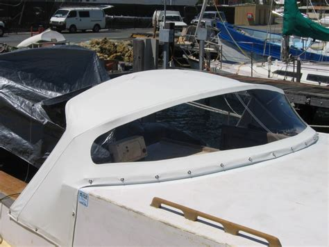 boat upholstery perth dodger 1 prestige marine trimmers boat covers perth
