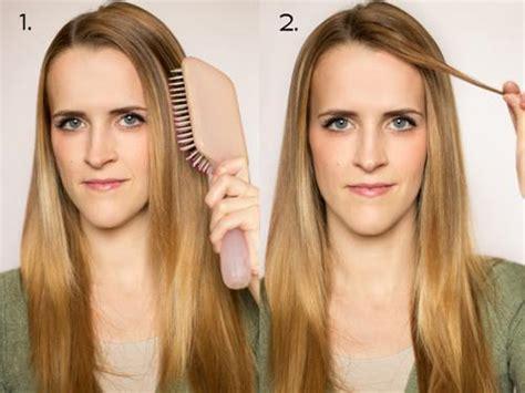 rizar el pelo en casa c 243 mo rizar el pelo con las planchas 6 pasos