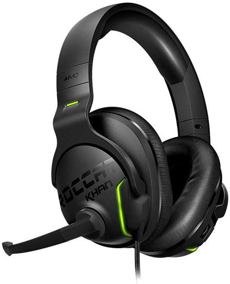 Sound Card Headset Gaming roccat unveils khan aimo rgb gaming headset with