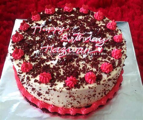 birthday ideas fair   decorate  red velvet birthday cake great birthday ideas