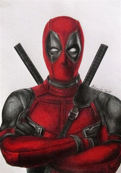 new deadpool deadpool drawing in pencil what do you think of the new