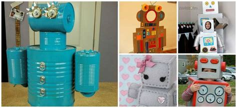 robot reciclado manualidades infantiles como hacer un robot reciclado c 243 mo hacer pintura casera para el verano manualidades