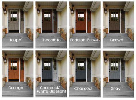 door colors for gray house door colors door paint colors for brick homes color ideas