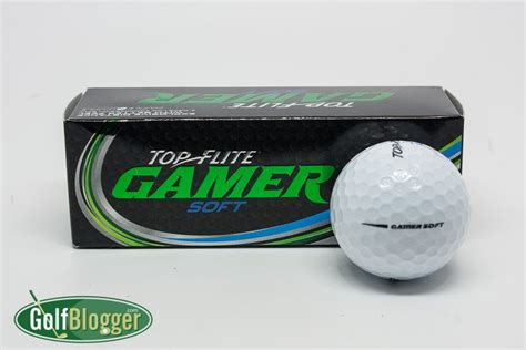soft golf balls for slow swing speeds top flite gamer soft review golfblogger golf blog