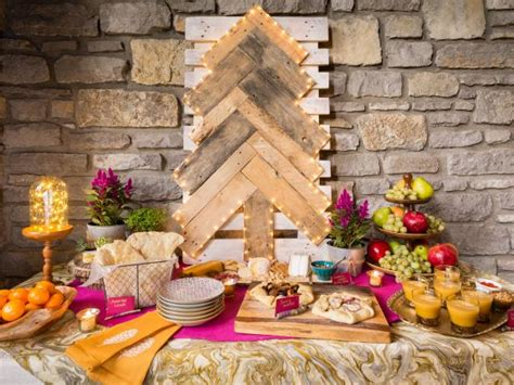 how to set up a buffet table how to set up a gorgeous buffet table for your hgtv s decorating design