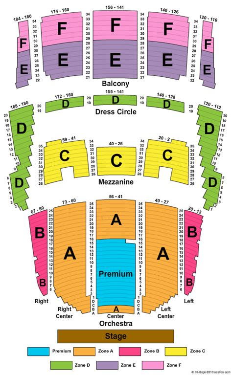 Orpheum Floor Plan by Queen Elizabeth Theatre Vancouver Seating Chart