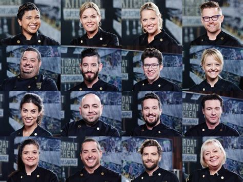 Cutthroat Kitchen Contestants List by Meet The New All Chefs On Cutthroat Kitchen Superstar Sabotage Cutthroat Kitchen Food