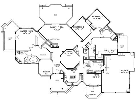 24 wonderful luxury ranch floor plans house plans 74784