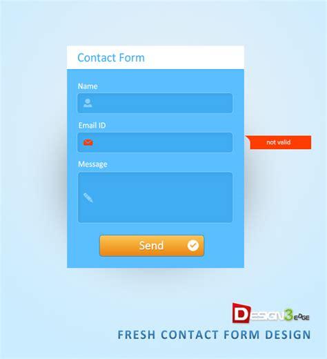 design form psd fresh contact form design psd design3edge com