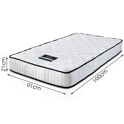 Single Mattress Size by Luxury Single Size Mattress Pocket High Density