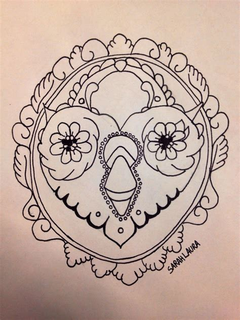 owl outline tattoo pin owl outlines eyecatchingtattooscom on