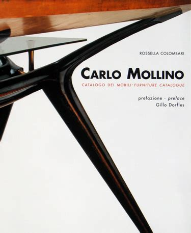 Carlo Mollino: Catalog dei mobili Furniture Catalog
