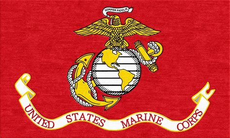 marine color buy the flag of the us marins corps logo rug