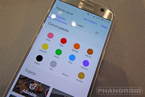 theme maker for galaxy s7 download galaxy s7 wallpapers themes free phandroid