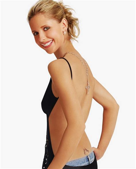 sarah michelle gellar tattoo geller flicks theatre n toobs