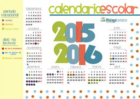 calendario escolar colegio atalaya cantabria
