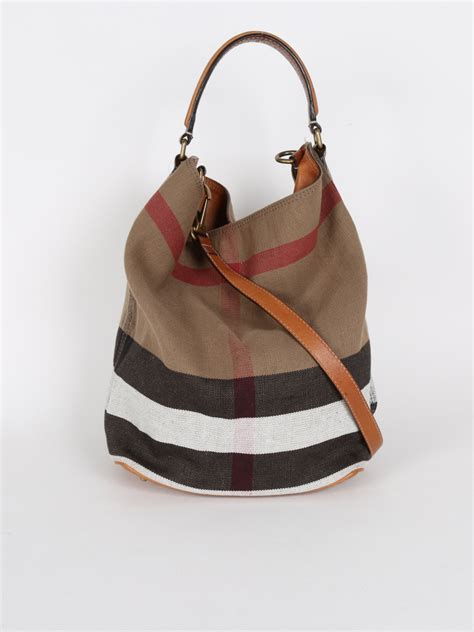 Burberry Canvas Shoulder burberry ashby canvas check shoulder bag luxury bags