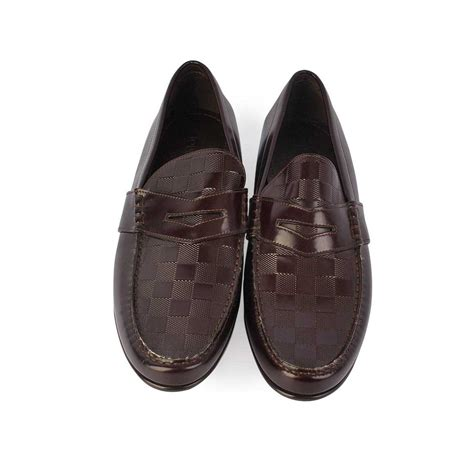 louis loafers louis vuitton graduation loafers brown s 42 8 new