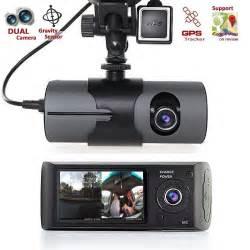 2 7 quot dual lens vehicle 1080p car dvr gps