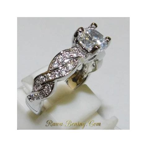 Cincin Wanita Zircon Gold Size 6 Chagne Gold 1 jual cincin wanita white gold filled 18k size 6us ukuran 12