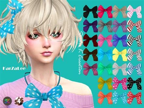 hair bow sims 4 custom content 81 best sims 4 custom content images on pinterest sims