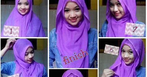 tutorial hijab paris unik tutorial hijab pesta unik 6 tutorial hijab segi empat