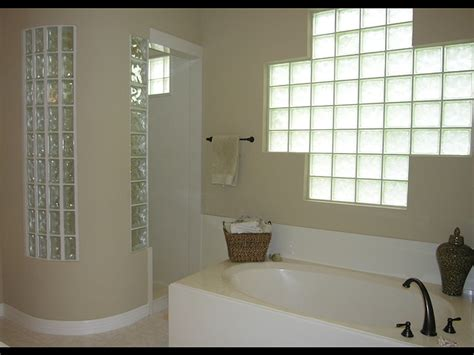 bathroom glass blocks curved shower wall with glass blocks