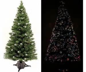 6ft black pre lit multi pre lit trees