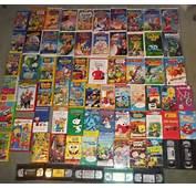 Huge Lot VHS Tape Disney Movie Wiggles Bob Builder Sesame Street