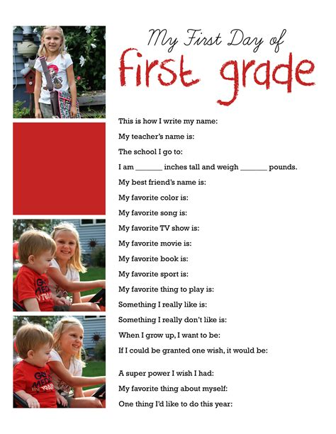 Printable Back To School Interviews Templates Who Arted Day Of School Template