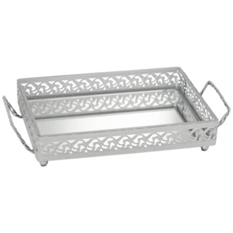Silver Vanity Tray by Silver Mirror Vanity Tray W9521 Ls Plus