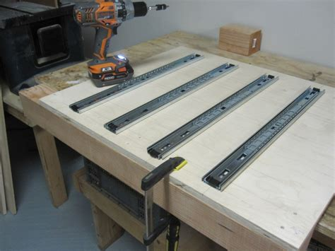 Building Drawers For A Workbench by Workbench Www Jasonwolley