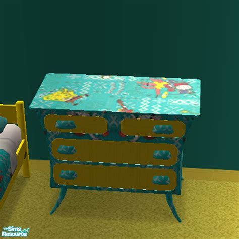 Spongebob Dresser by Am1974 S Spongebob Groovy Dresser