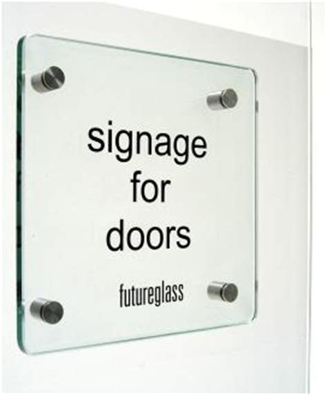 Glass Door Sign Glass Door Signage Made To Order From Glass