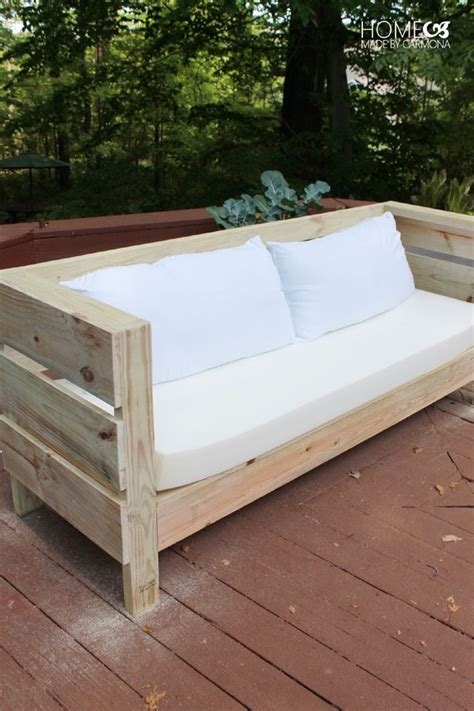 how to build a couch out of wood 25 best ideas about outdoor furniture plans on pinterest