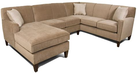 england sectional sofa england collegedale contemporary 3 piece sectional sofa